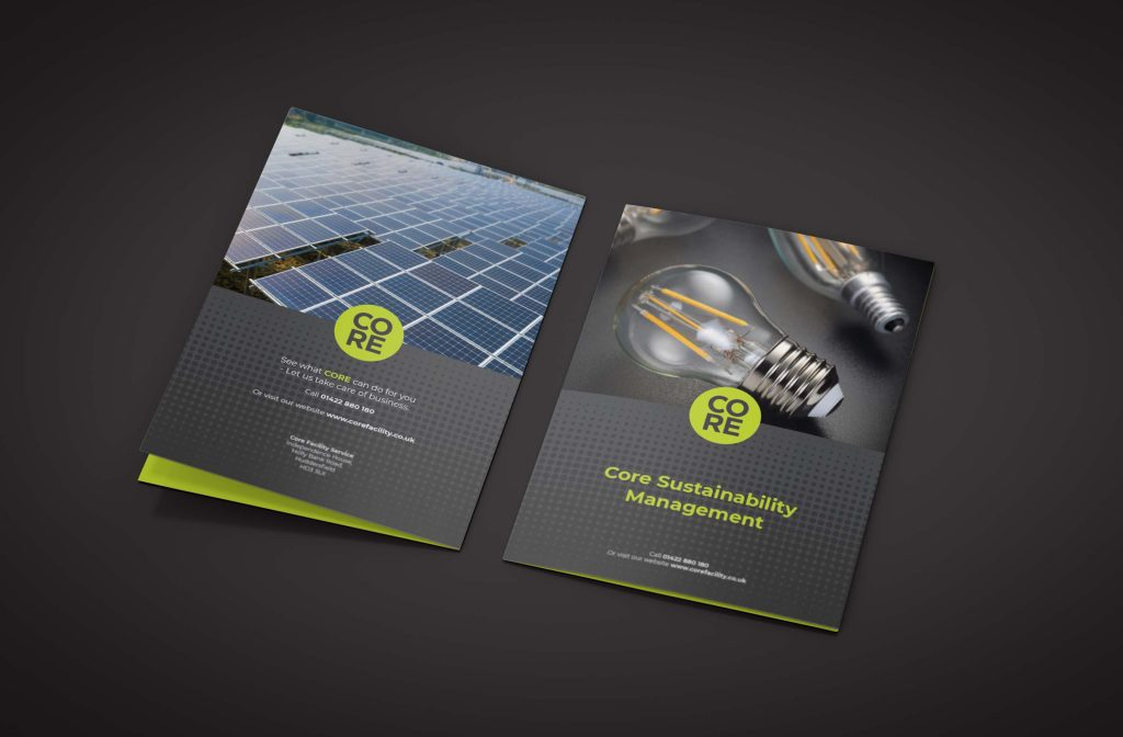 Sustainability Brochures and Booklets Design
