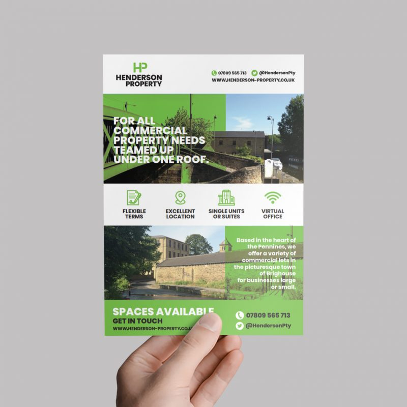 Flyer Design Brighouse West Yorkshire